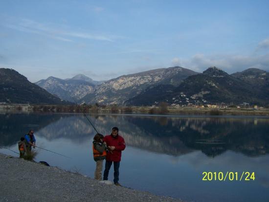 Lac du Broc-24/01/2010