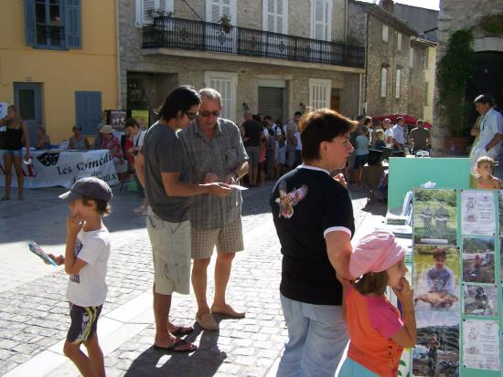 Forum La Colle/loup 2009