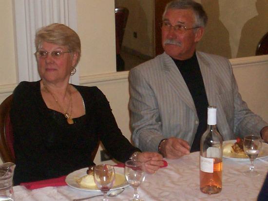 Marcel BUSSAC (vice-président) et Madame