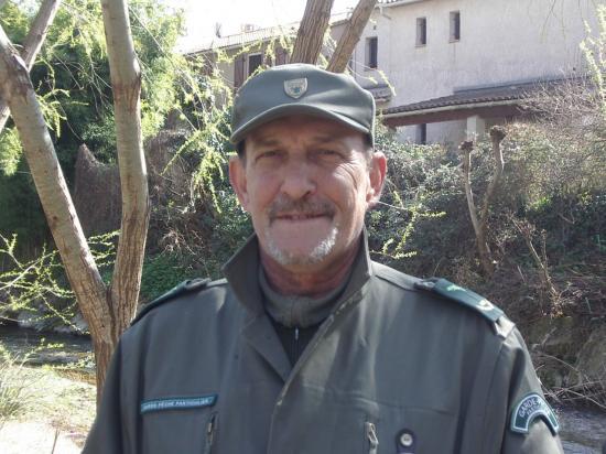 Edouard VERNOCCHI, garde pêche
