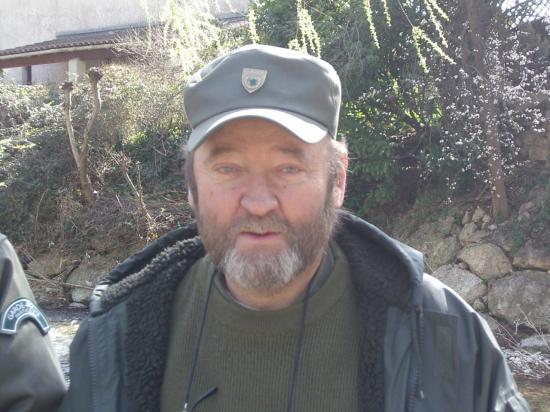 Denis FACCIA, garde pêche