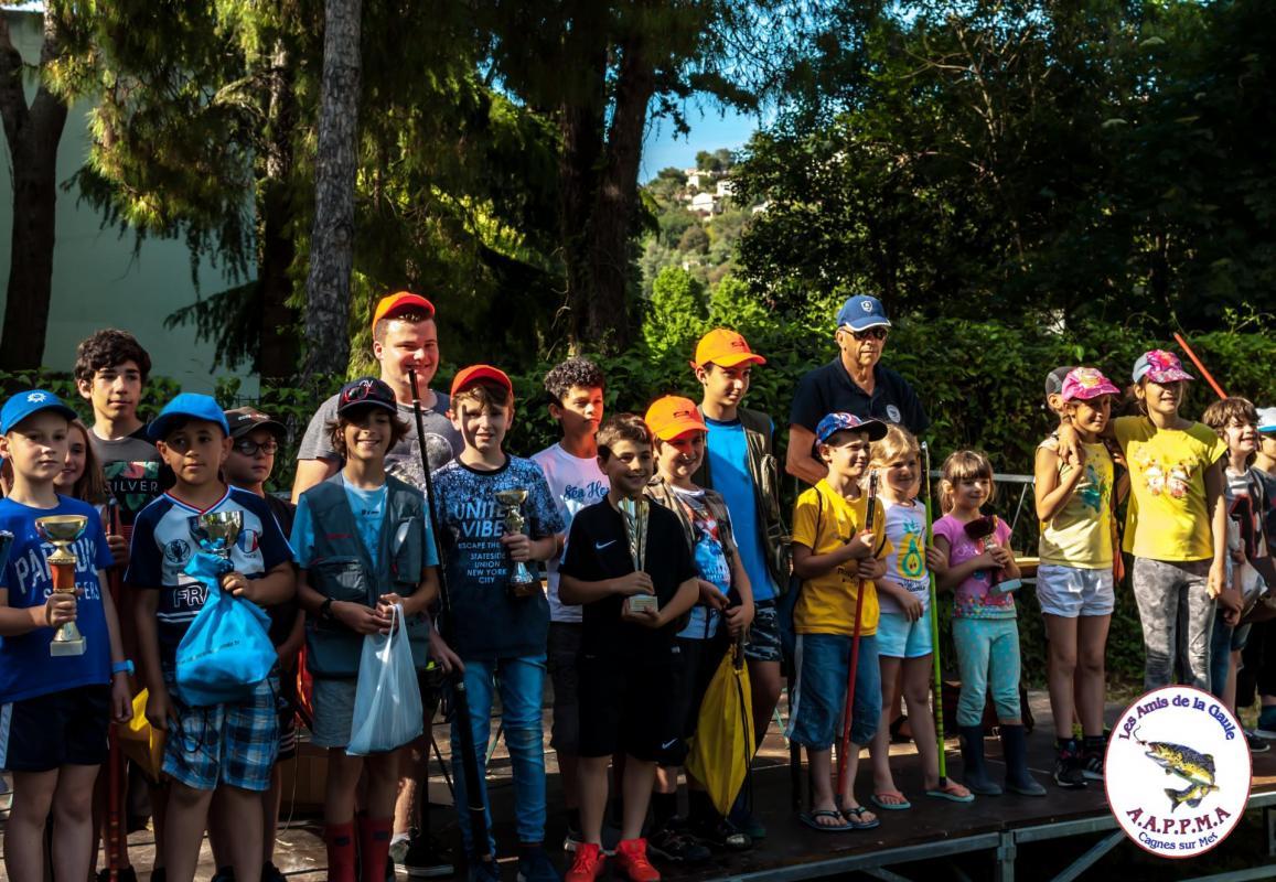 Enfants qui on participer au concours