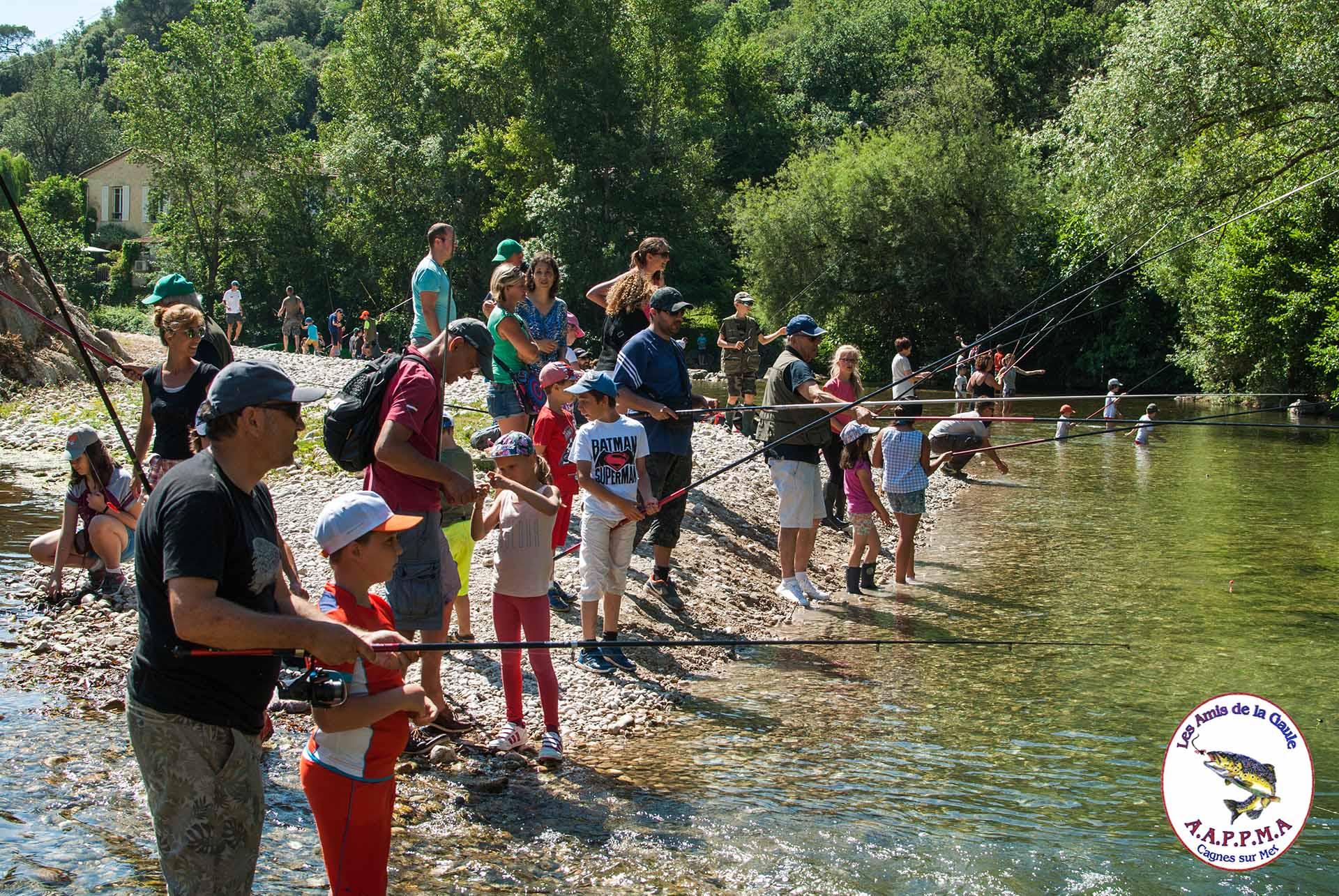 Concours pêche à la truite