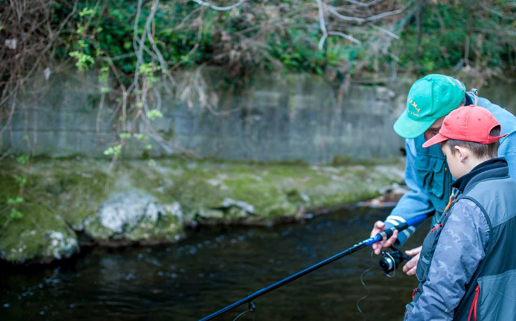 Apprendre la pêche