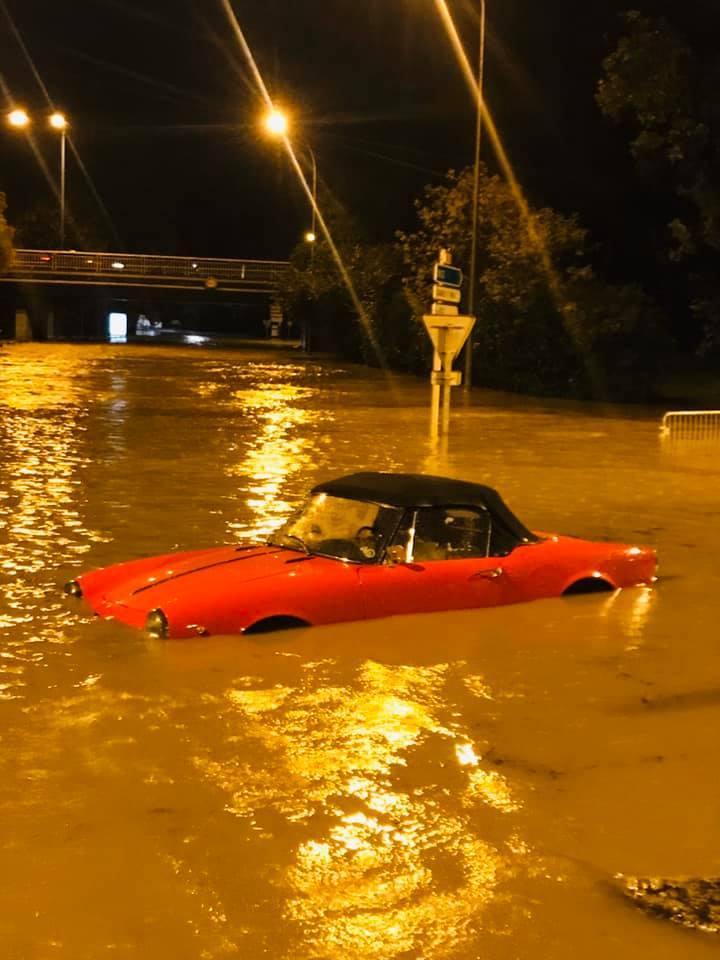 Inondation Décembre 2019 Colle sur loup