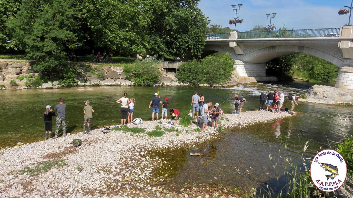 Concours pêche Villeneuve-Loubet enfants